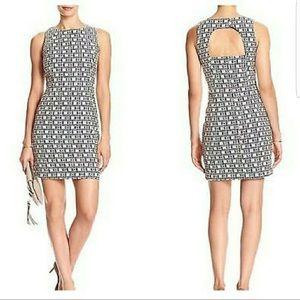 Banana Republic EUC Jacquard Open Cool combo Dress